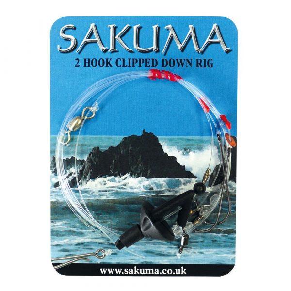 Sakuma 2 Hook Clipped Down Rigs