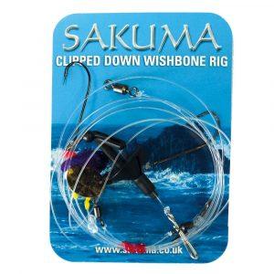 Sakuma 2 Hook Wishbone Clipped Down Rigs